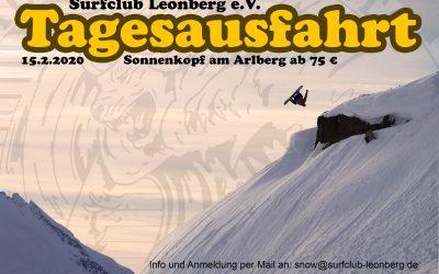 Snowboard Tagesausfahrt 15.02.2020